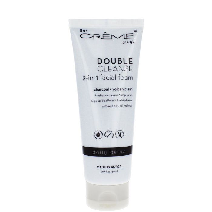 The Creme Shop 2-in-1 Facial Foam Cleanser: Detox
