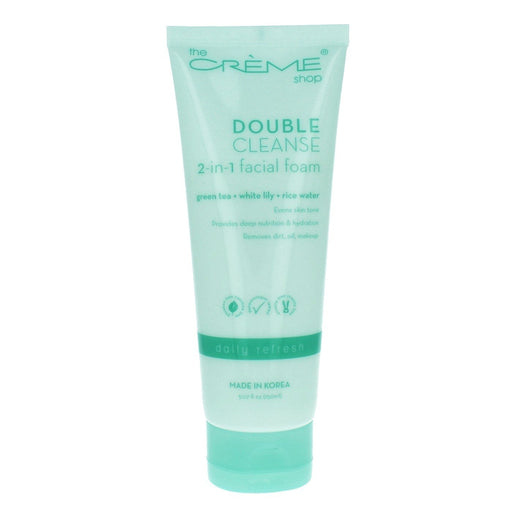 The Creme Shop 2-in-1 Facial Foam Cleanser: Daily Refresh
