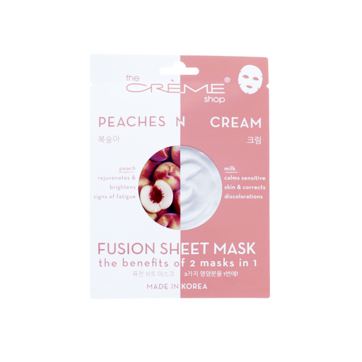 The Creme Shop Peaches & Cream Fusion Sheet Mask