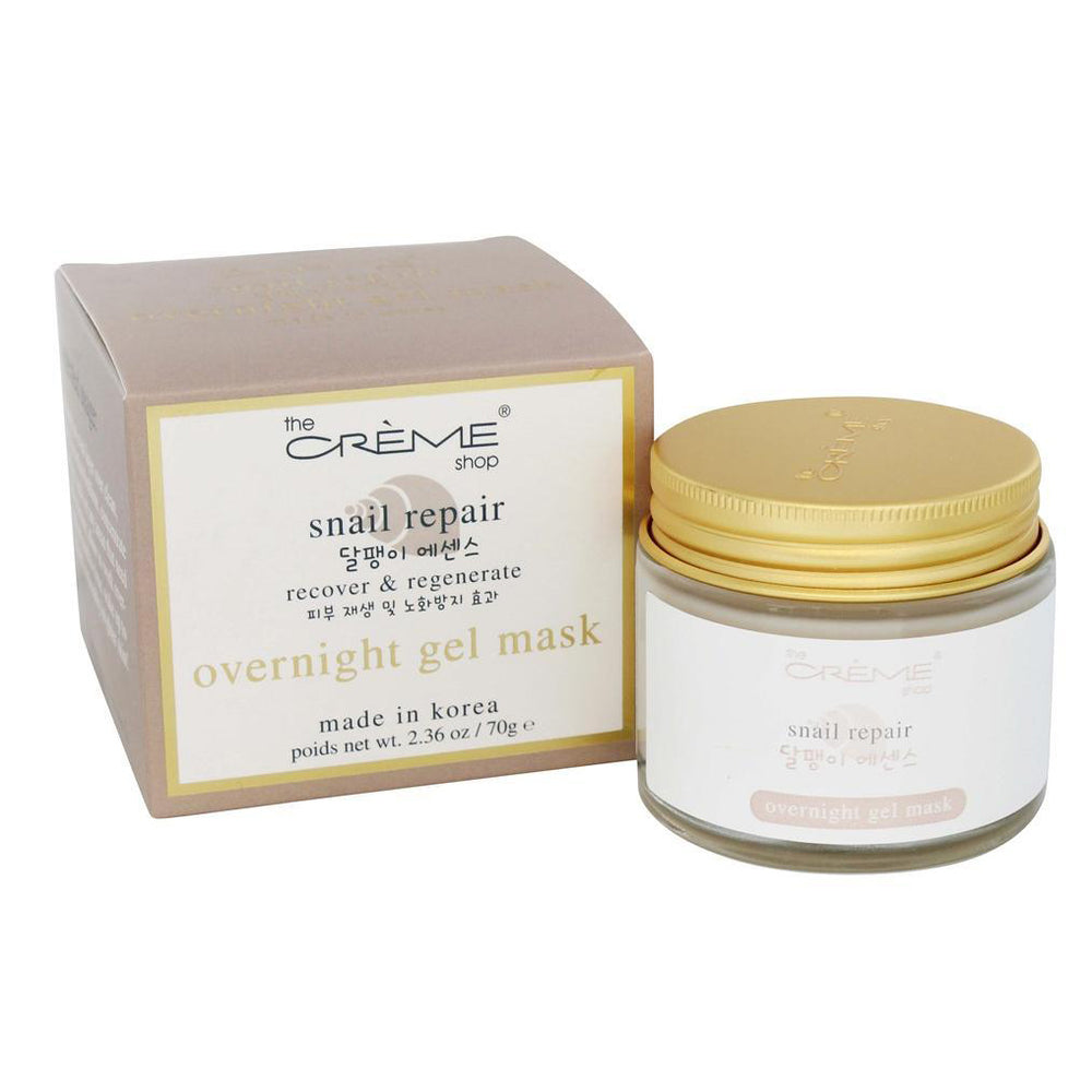 The Creme Shop Snail Repair Overnight Gel Mask