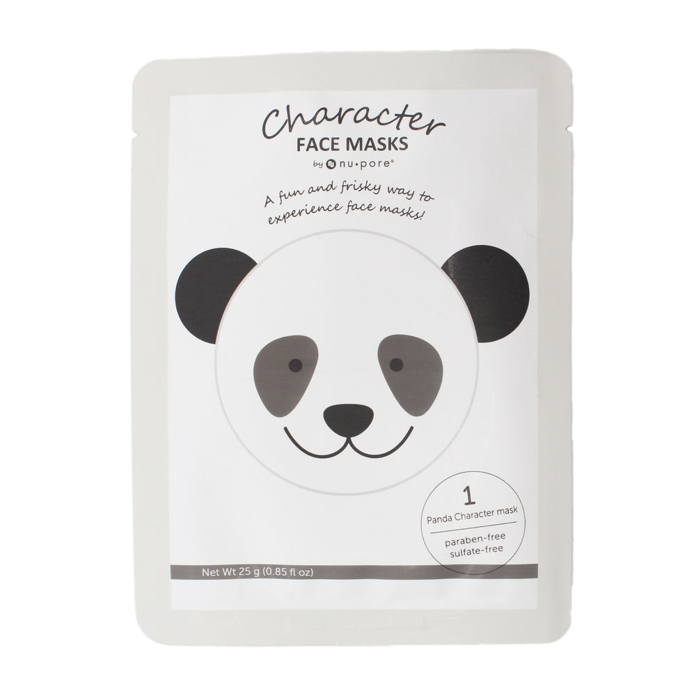 Nu Pore Animal Panda Face Mask