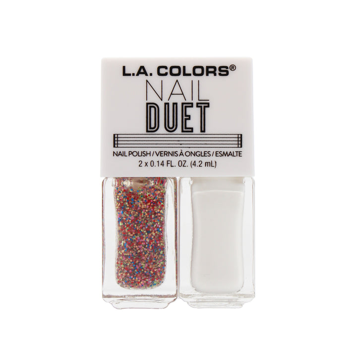 L.A. Colors Nail Duet Polish