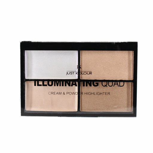 Just Kolour Illuminating Quad Cream & Powder Highlighter