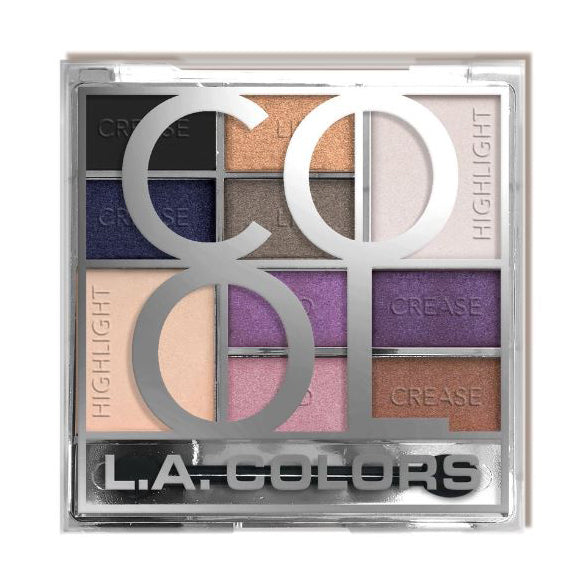 L.A. Colors Color Block Eyeshadow - Cool