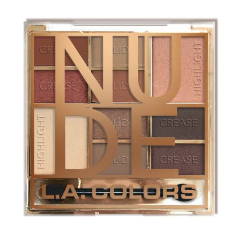 L.A. Colors Color Block Eyeshadow - Nude