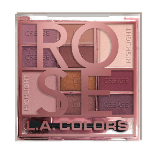 L.A. Colors Color Block Eyeshadow - Rose