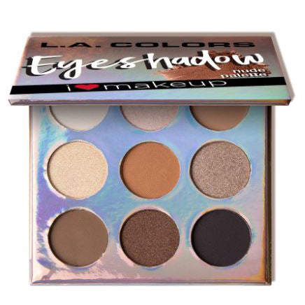 L.A. Colors Beauty Booklet Eyeshadow Palette