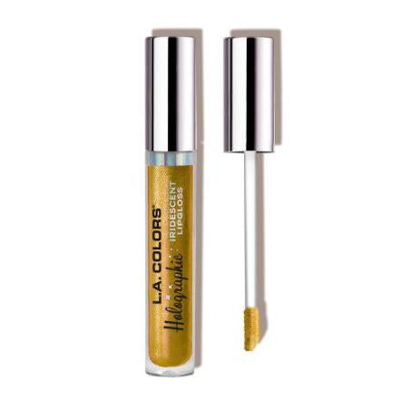 L.A. Colors Holographic Iridescent Lipgloss - Gold Rush