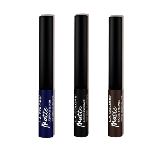 L.A. Colors Liquid Eyeliner Collection - Matte