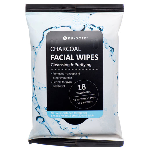 Nu Pore Charcoal Facial Wipes