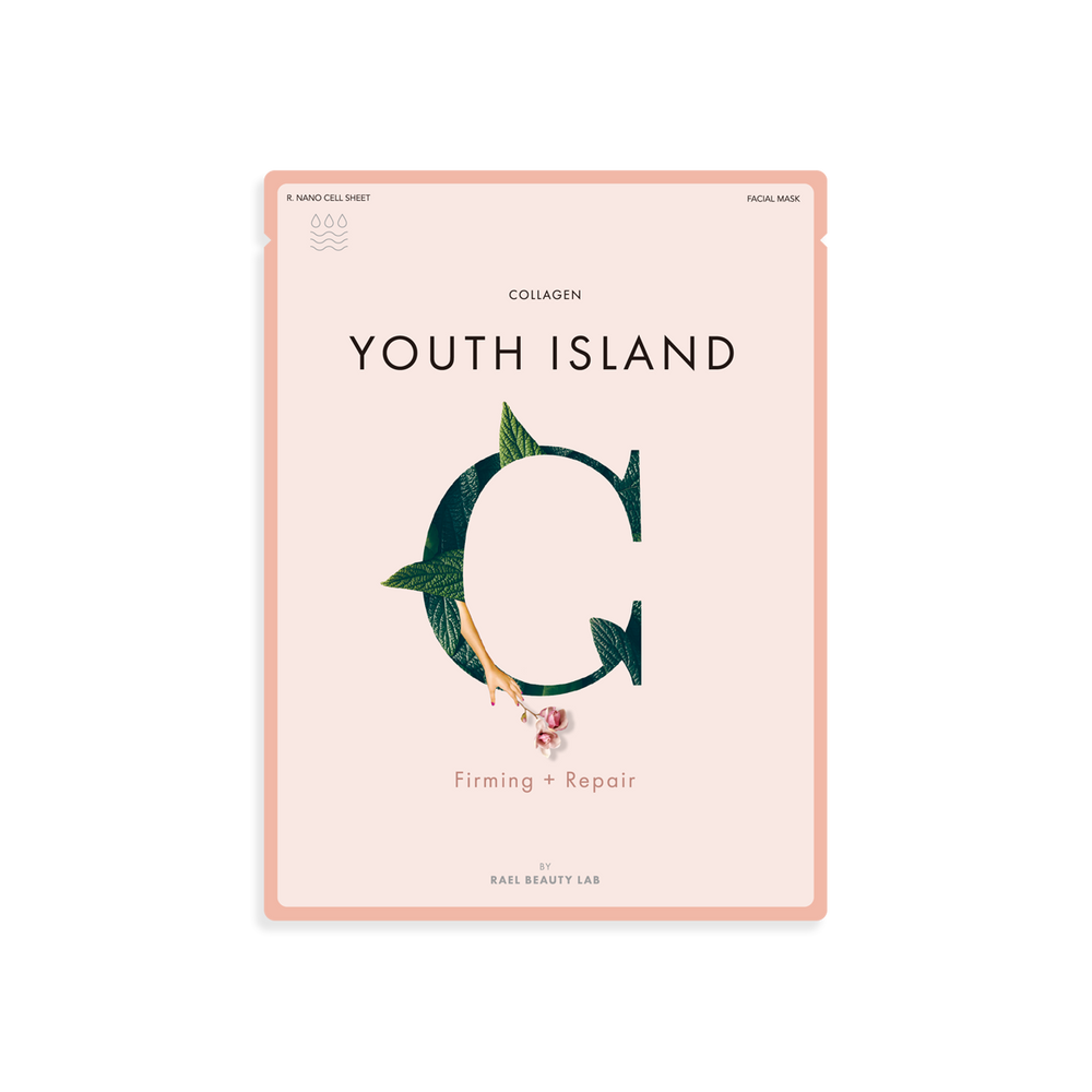 Rael Youth Island Sheet Mask with Collagen