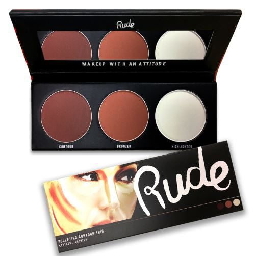 Rude Cosmetics Sculpting Contour Trio