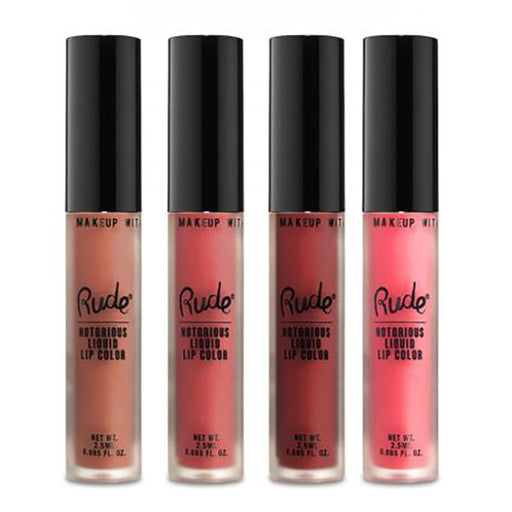 Rude Cosmetics Notorious Liquid Lip Color