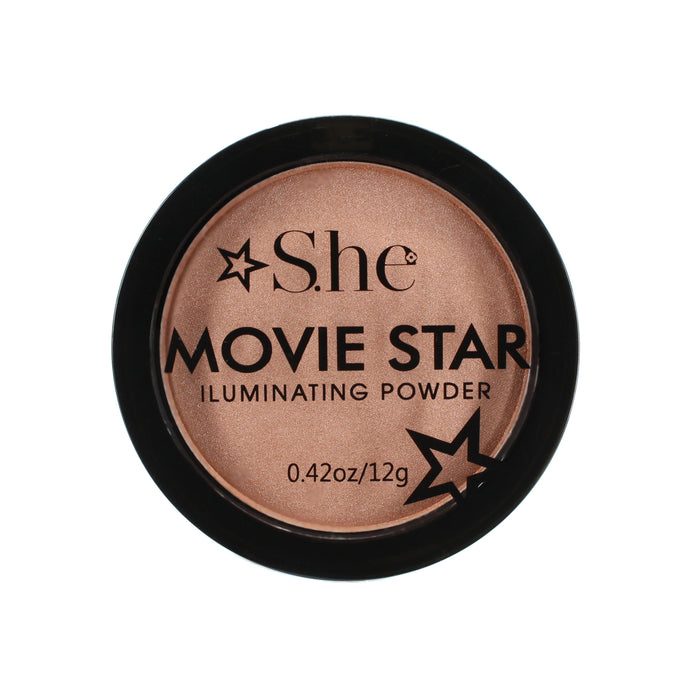 She Makeup Movie Star Illuminating Powder