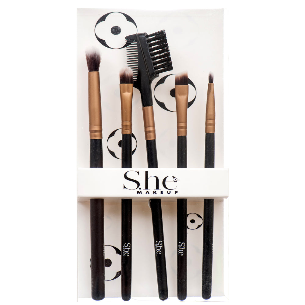 She Makeup Eye Brush Set