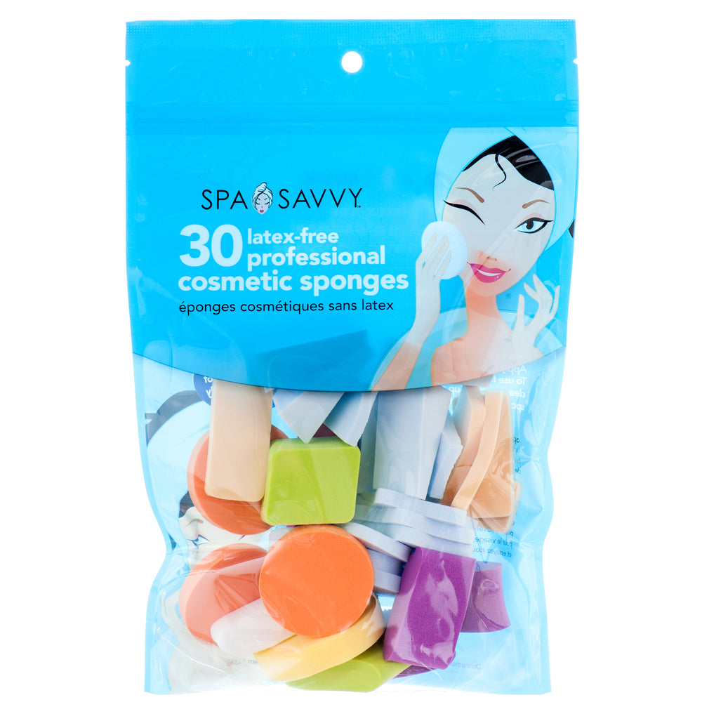 Spa Savvy Latex-Free Professional Cosmetic Sponges