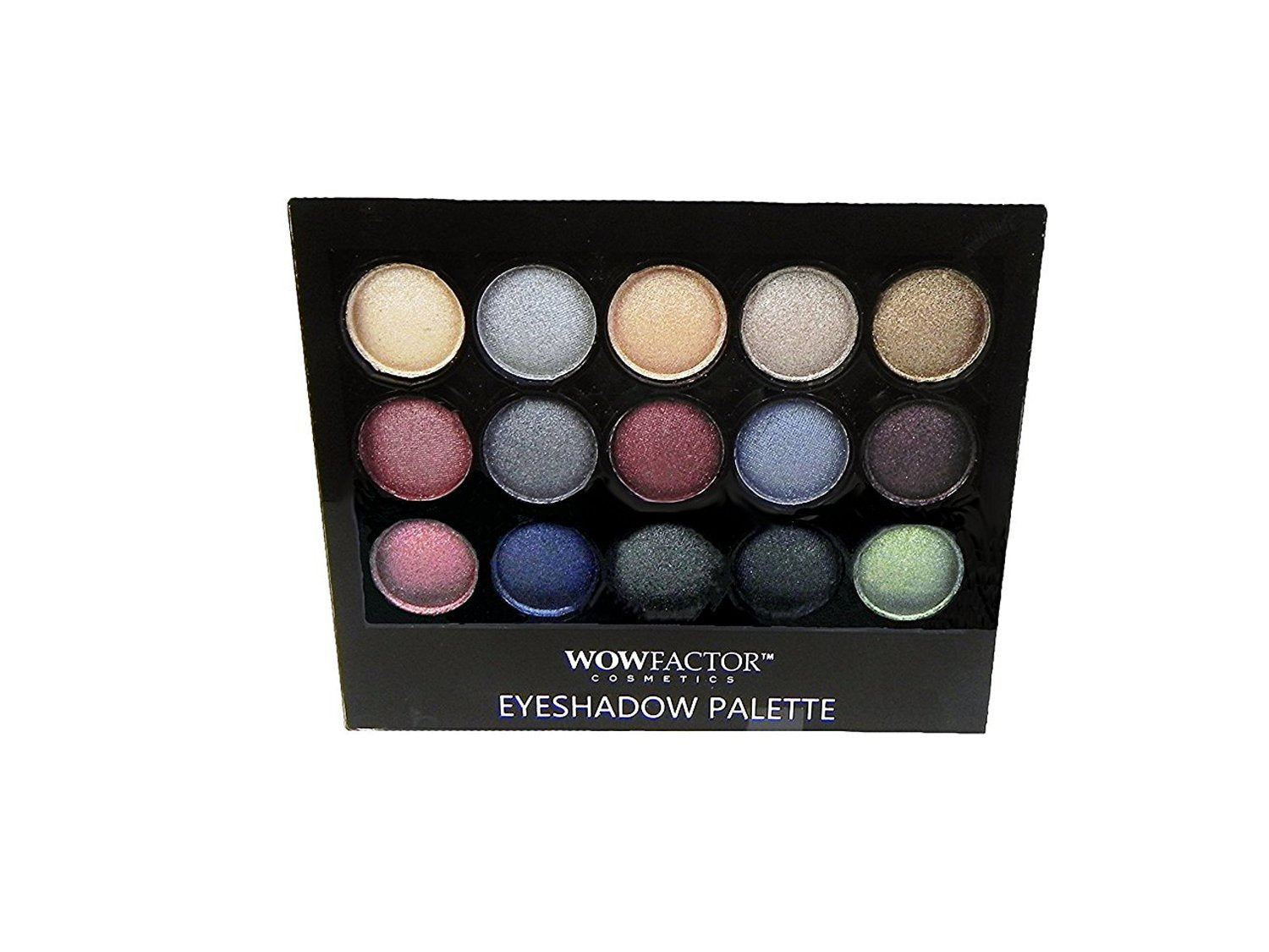 Wow Factor Cosmetics Eyeshadow Palette - Cool Tones
