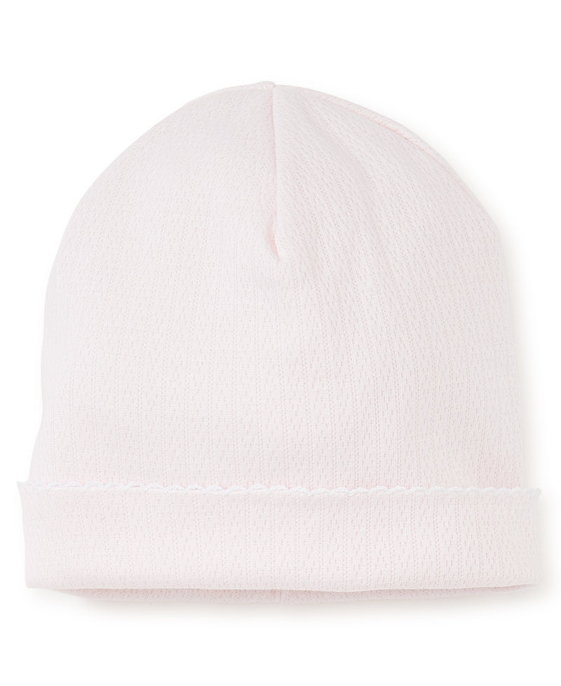 Pink Pointelle Hat |Kissy Kissy