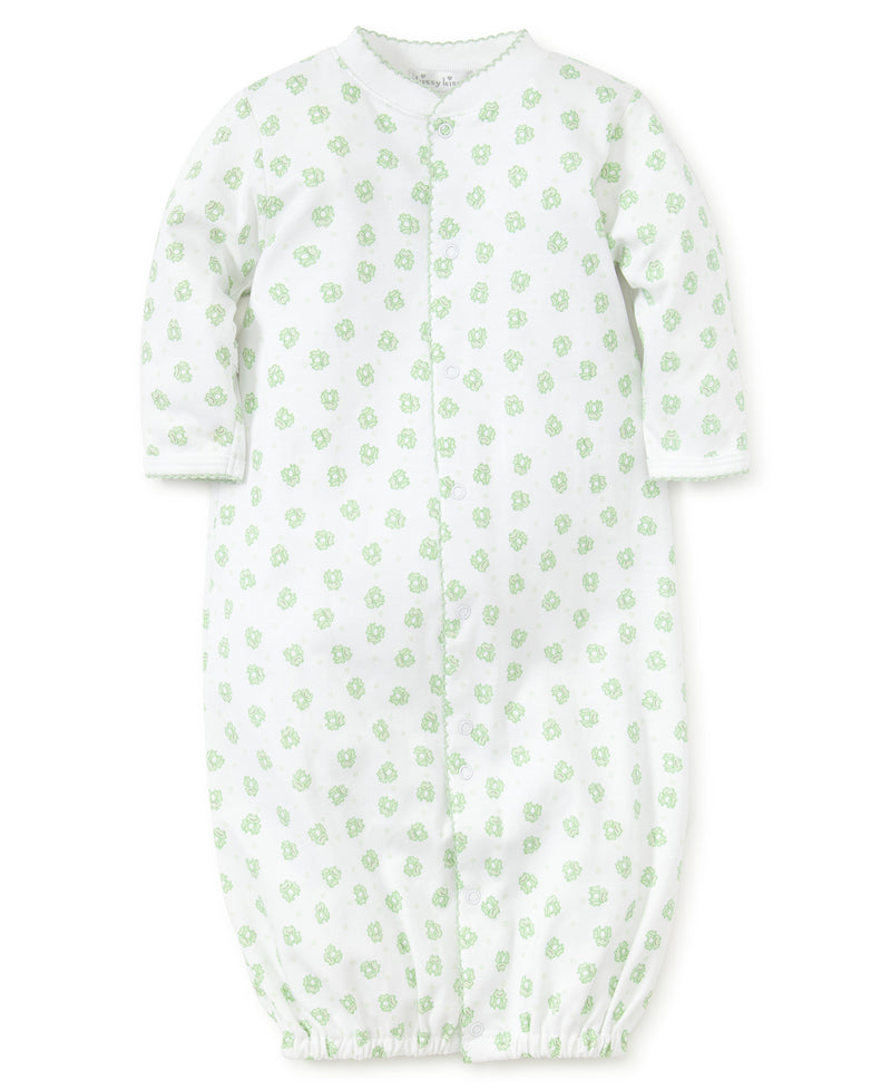 Homeward Bound Frog Print Convertible Gown
