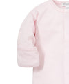 Pink/White Kissy Basics Footie NEW
