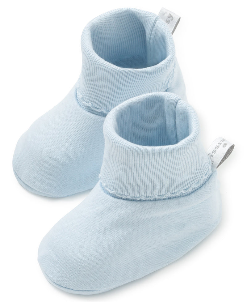 Blue Kissy Basics Booties