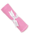 Fuchsia Kissy Essentials Stripe Blanket
