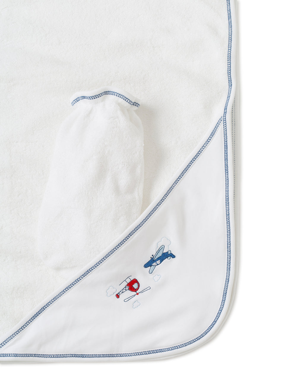 Aviators Hooded Towel & Mitt Set
