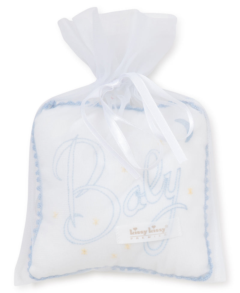 Boys Christening Musical Pillow
