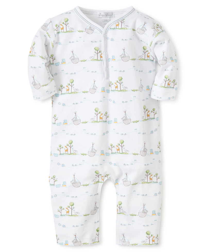 Blue Noah's Print Playsuit