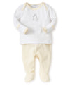 Giraffe Generations Stripe Footed Pant Set
