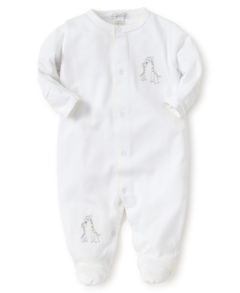 Giraffe Generations Footie & Hat Set
