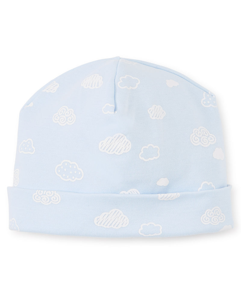 Cotton Clouds Blue Hat