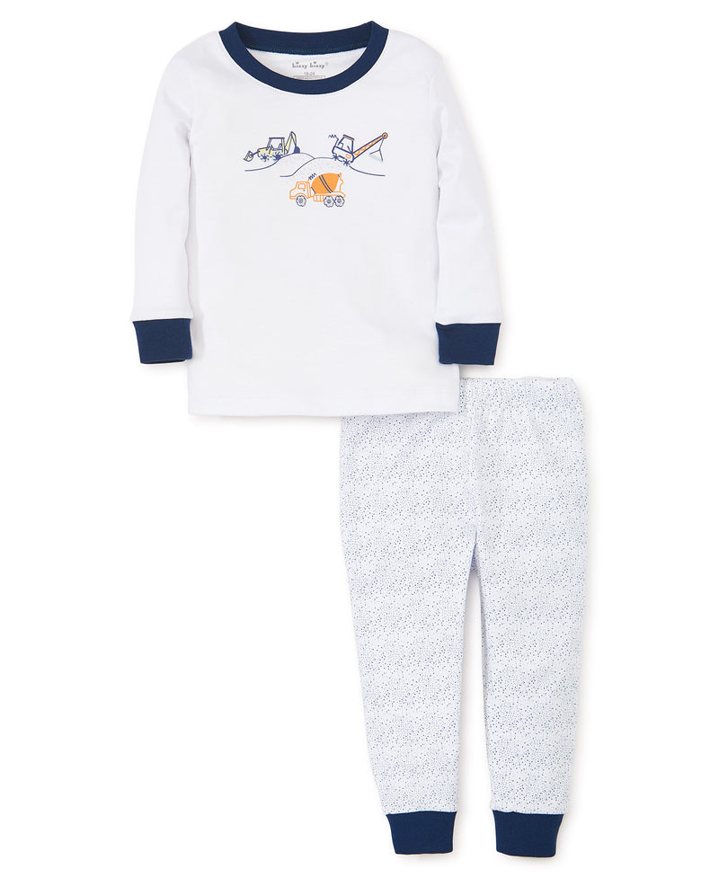 Construction Pajama Set