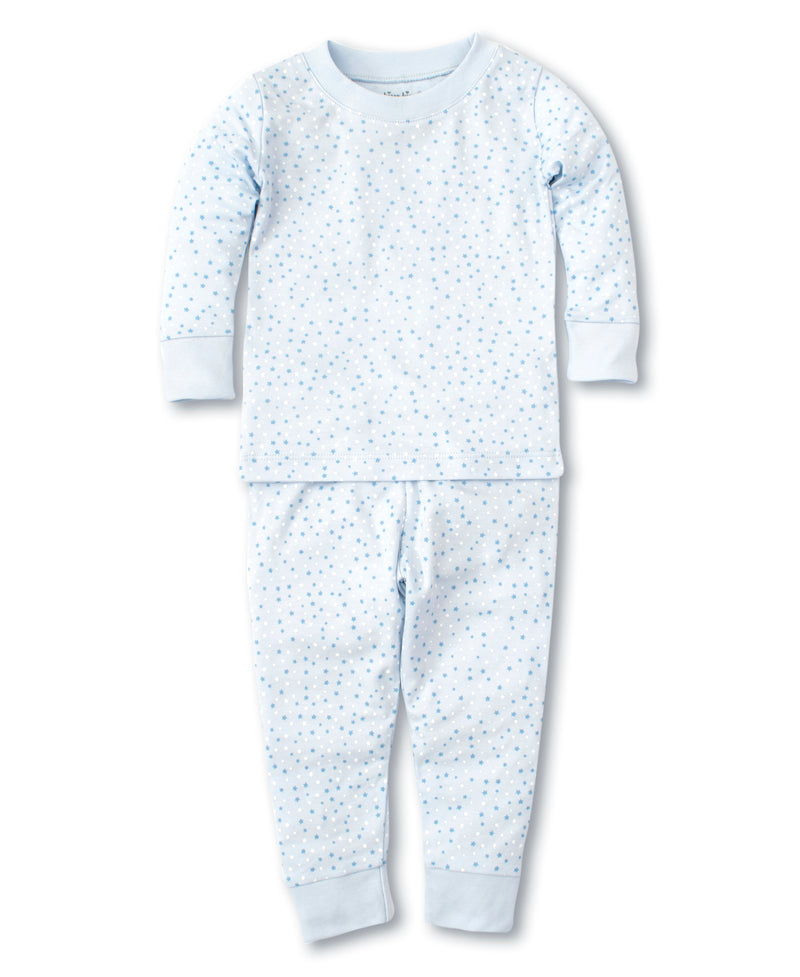 Kissy Superstars Blue Print Pajama Set