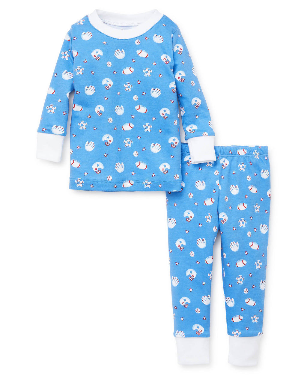 Fall Ball Toddler Pajama Set