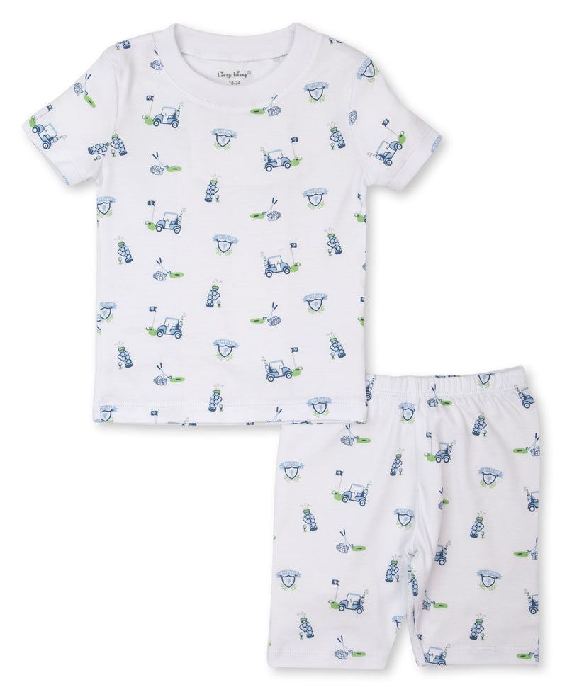 Longest Drive Toddler Short Pajama Set