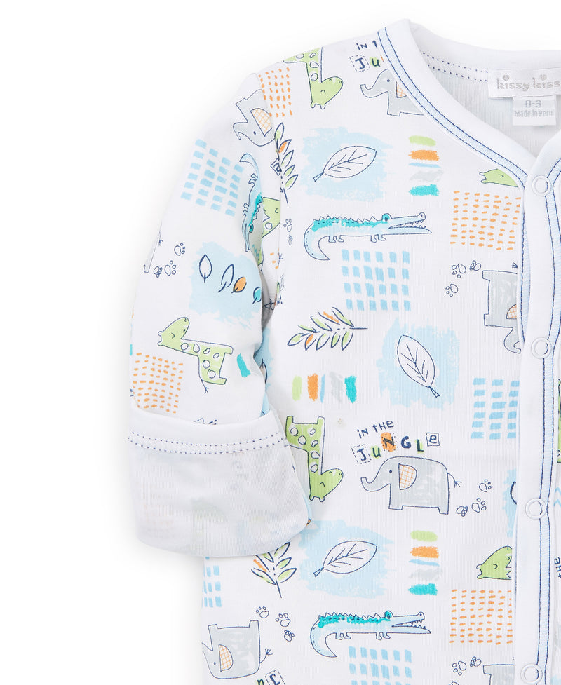 In The Jungle Print Footie