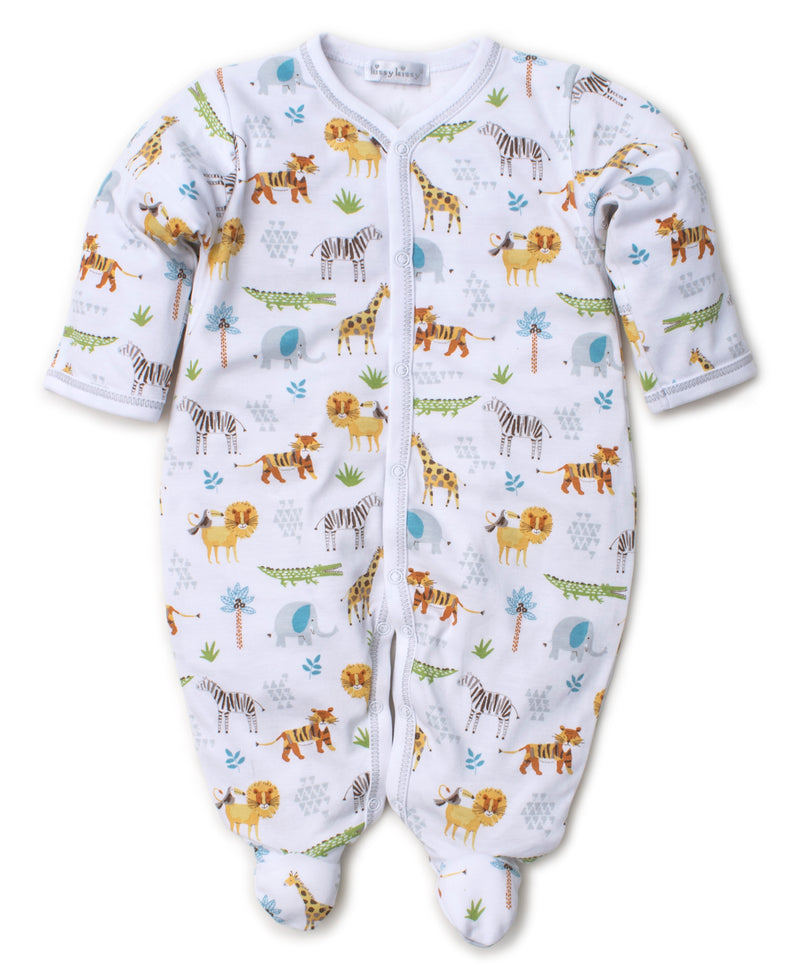Jungle Junket Print Footie