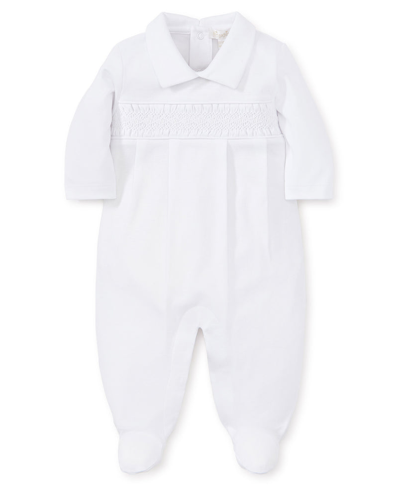 Hand Smocked Special Occasion Footie