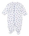 Toy Rocker Print Footie