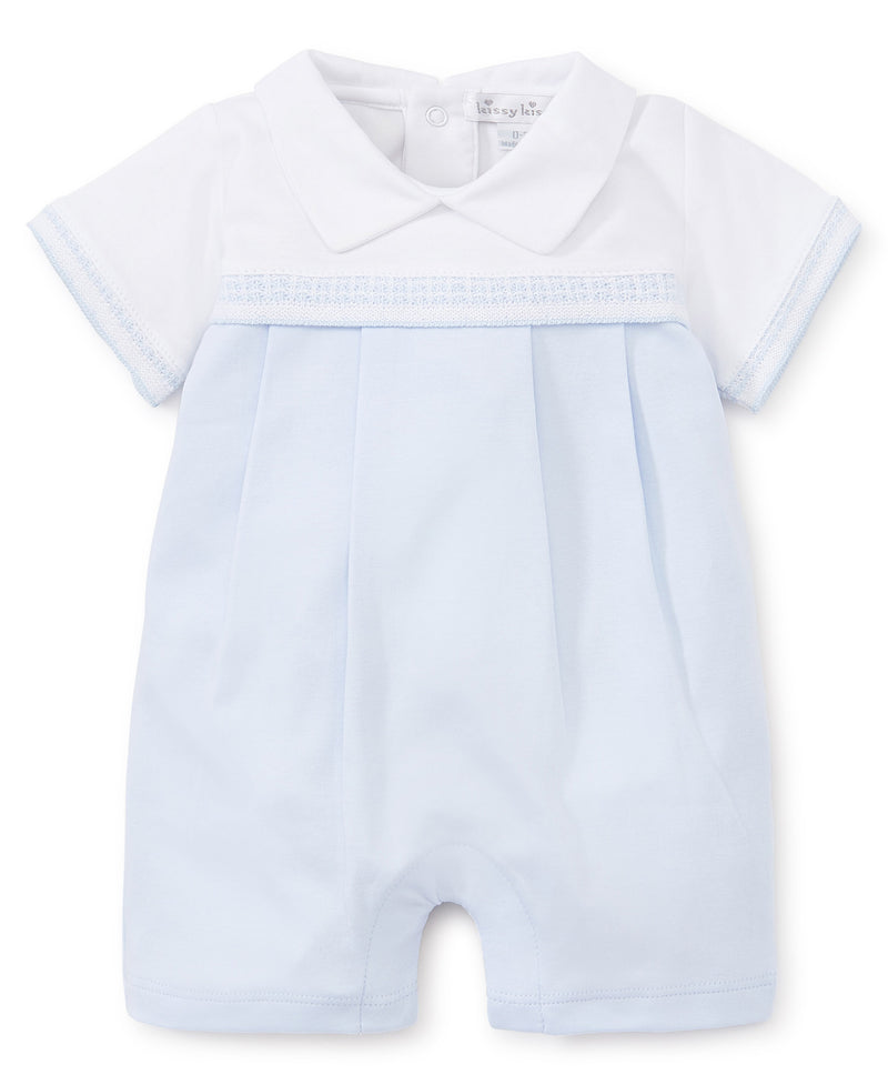 Baby Homecoming Blue Short Playsuit