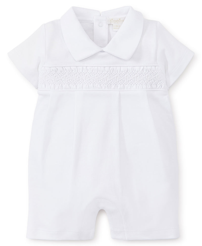 Hand Smocked Premier Special Occasion Playsuit