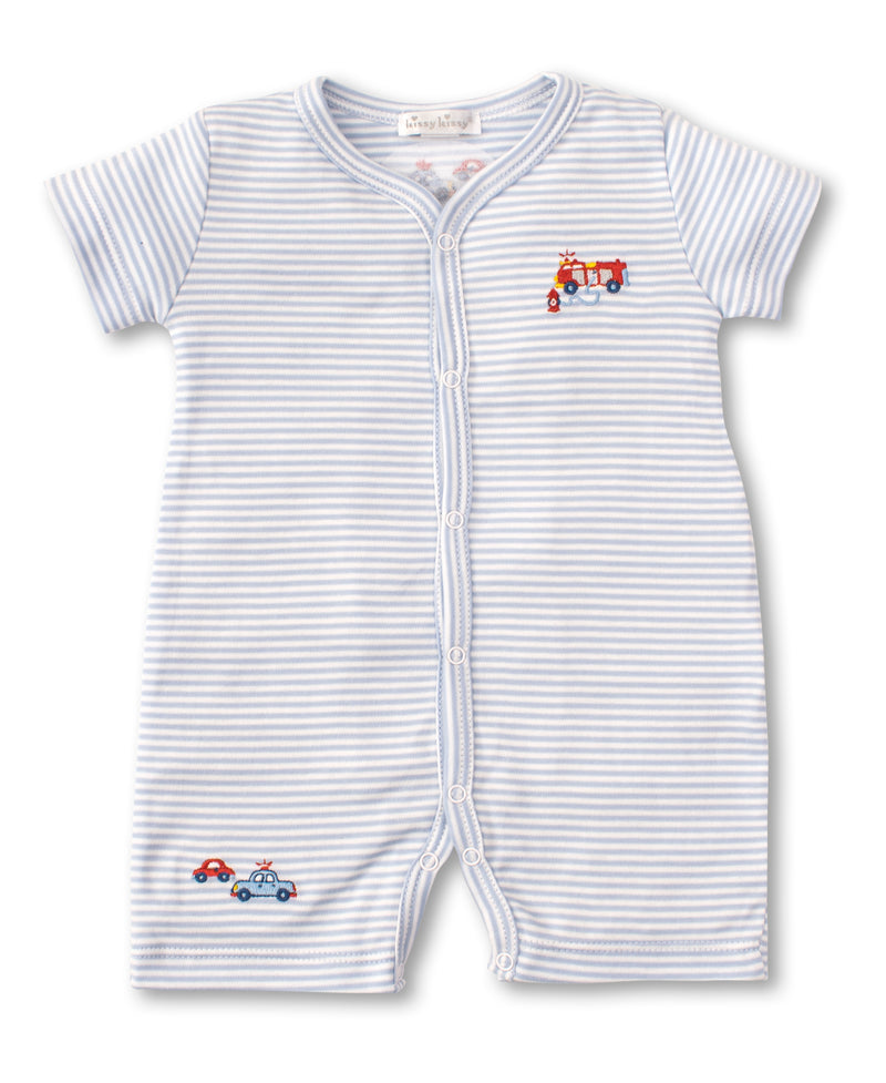 Rescue Team Short Stripe Playsuit