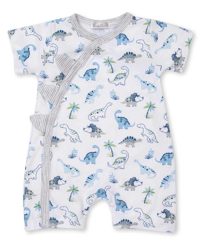 Happy-Saurus Short Playsuit