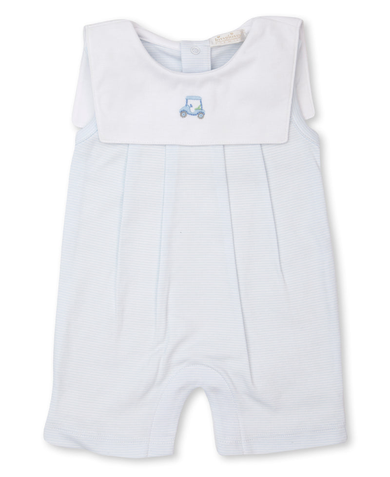 Hand Embroidered Premier Golf Sleeveless Playsuit