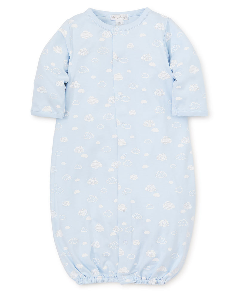 Cotton Clouds Blue Convertible Gown