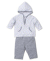 Dapple Dots Hooded Pant Set