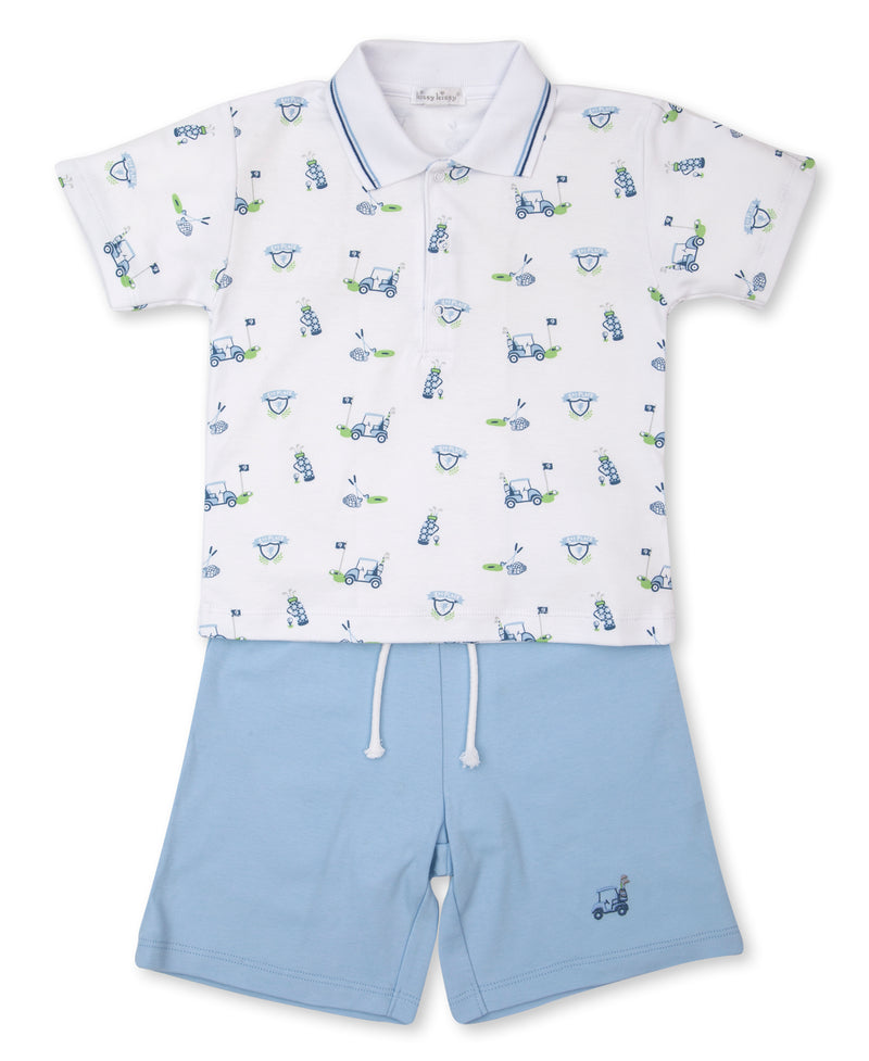 Longest Drive Toddler Bermuda Set