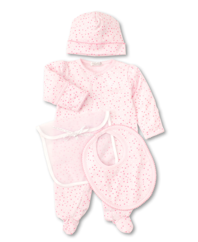Kissy Sweethearts Pink Gift Set