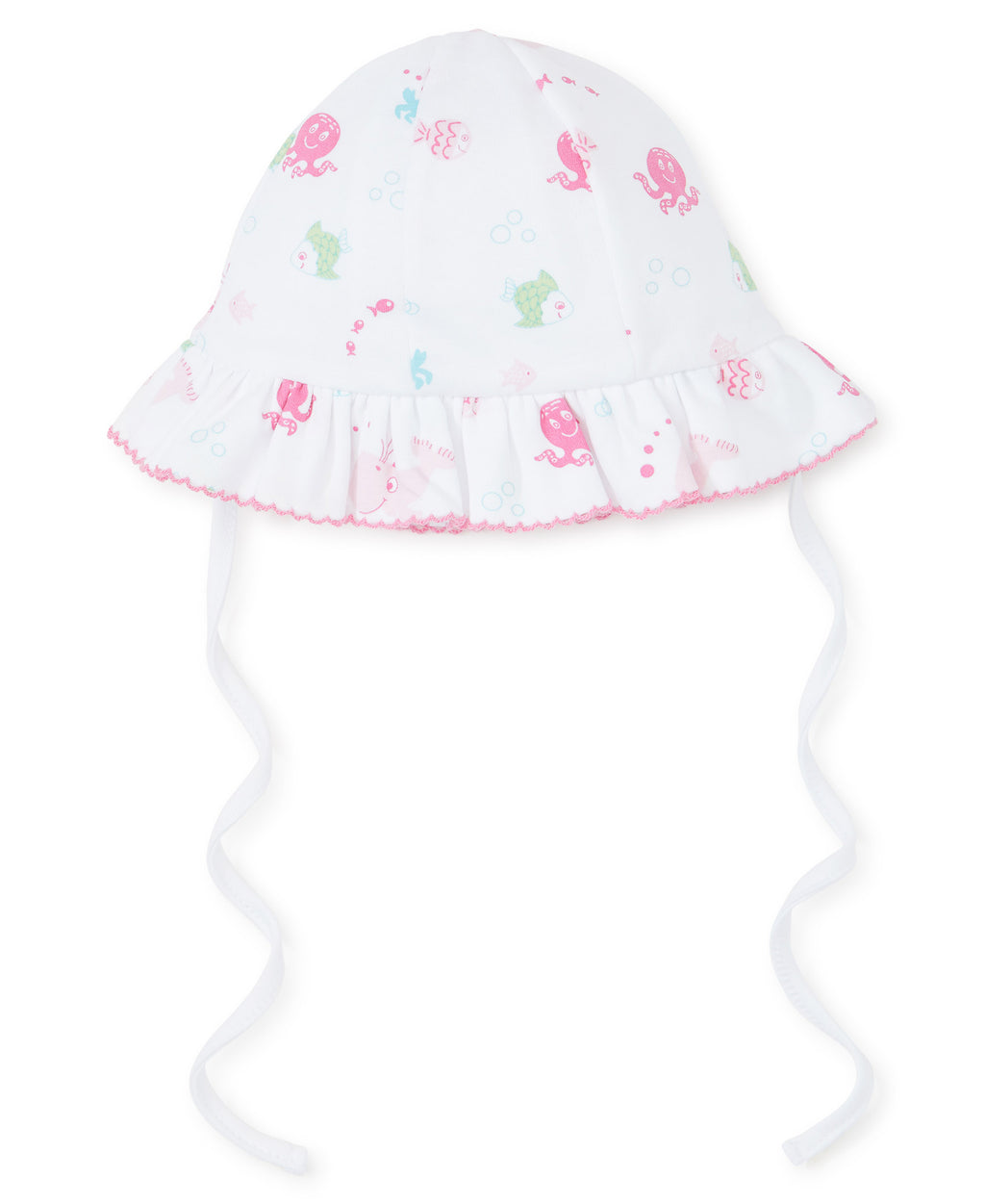 Under The Sea Fuchsia Floppy Hat